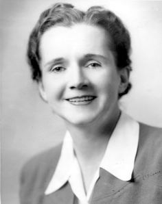 "Rachel Carson was a scientist who wrote ""Silent Spring"" and ""The Sea Around Us"""